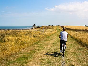 Planlæg cykelture i hele Danmark