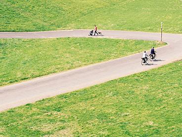 Sådan får du medvind, når du cykler