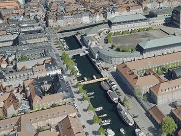3D visualisering af Danmark