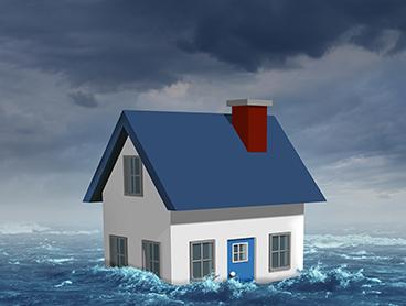 Bliver din bolig oversvømmet?
