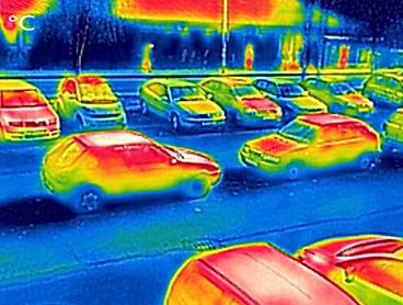 Termografisk trafik tracking – et døgns trafikadfærd i GIS