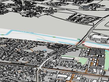 Med GIS til 3D får du mere ud af dine 2-dimensionale data