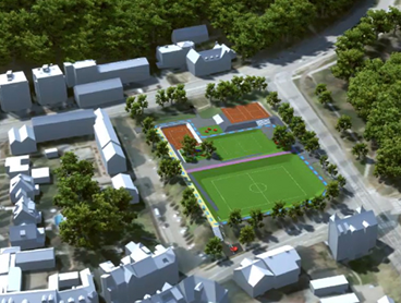 3D bymodel til visuel formidling af klimaprojekt