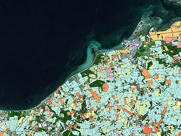 Satellitbilleder letter landmændenes hverdag